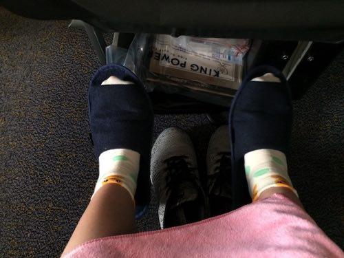 รองเท้าใส่เดินบนเครื่องบิน