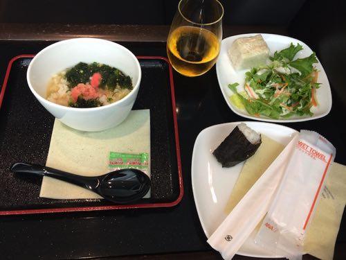 อาหารทานในห้องรับรองผู้โดยสาร