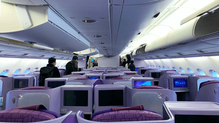 Business Class การบินไทย