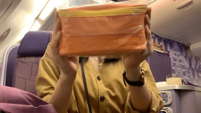 รีวิว Business classการบินไทย