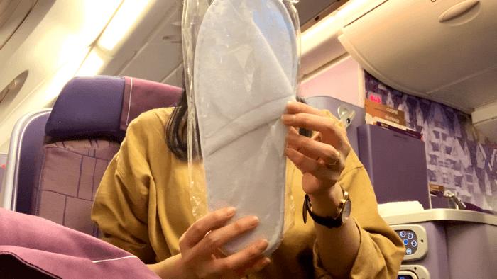 Business Class การบินไทย รีวิว
