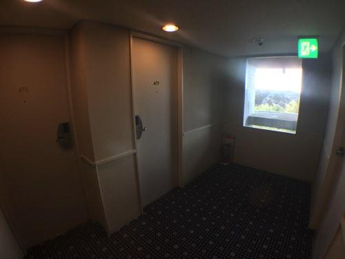 ทางเข้าห้อง Nikko hotel