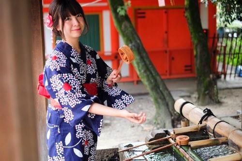 ชุดยูกาตะ น่ารัก