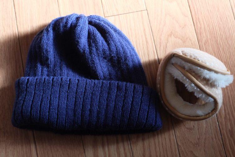 หมวกไหมพรมหน้าหนาว ญี่ปุ่น