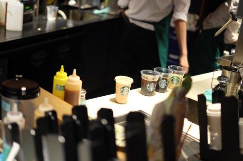 เครื่องดื่ม star bucks kyoto