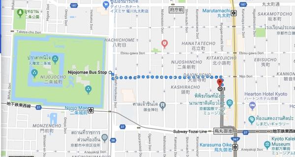 ไปงานเกียวทานาบาตะโฮริกาวะ