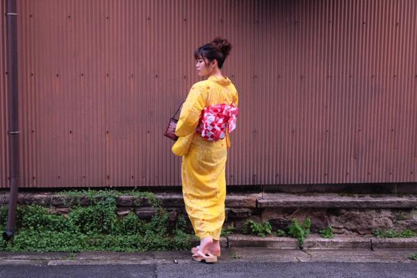 รีวิวเช่าชุดยูกาตะที่เกียวโต