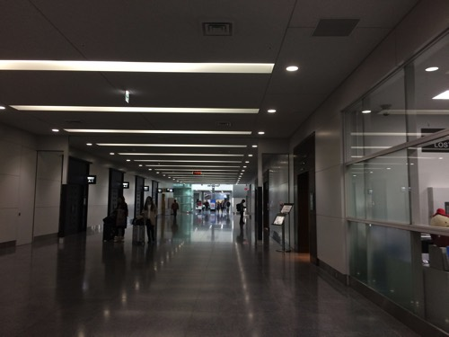 ทางเข้าห้องรับรองผู้โดยสารสนามบินChubu Airport