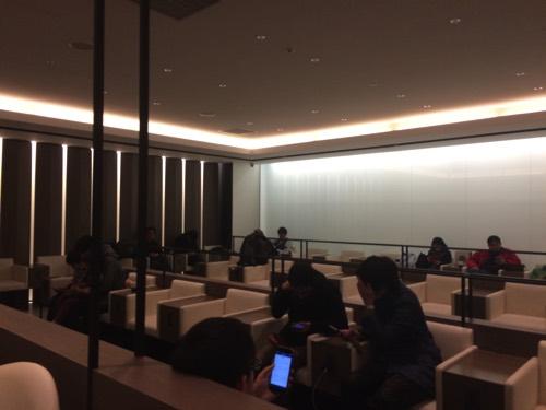 บรรยากาศภานในPremium Lounge JCB