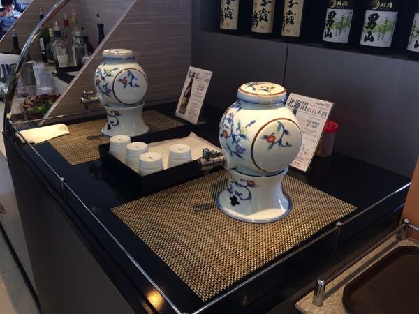 อาหารในANA Lounge Kansai