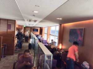 Thai airways Lounge