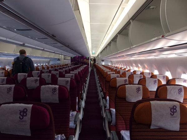 การบินไทย Economy class review
