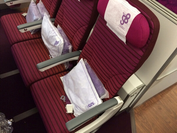thai Airways economy class A350 รีวิว