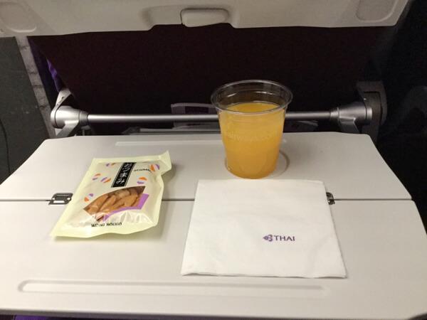 thai Airways ชั้นประหยัด รีวิว