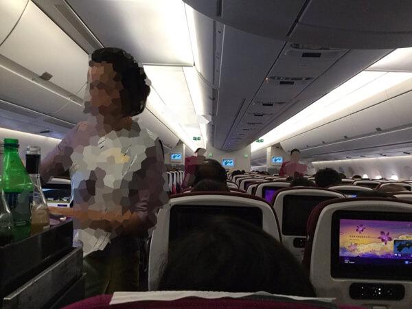 รีวิว Thai Airways ญี่ปุ่น