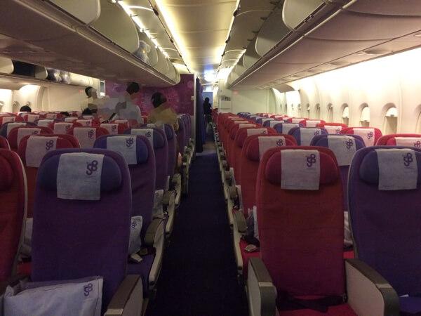 รีวิวการบินไทยA380 ชั้นประหยัด