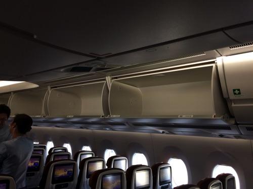 ช่องเก็บของบนเครื่องบิน การบินไทย