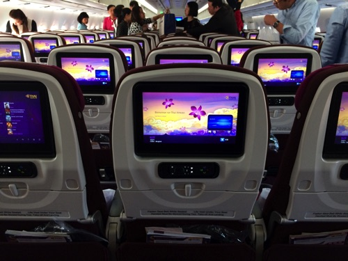 รีวิว Economy Thai Airways