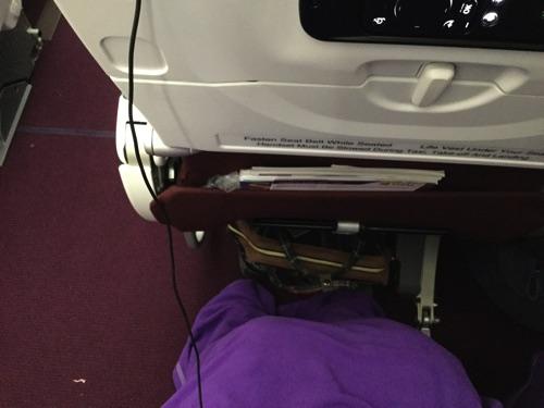 ผ้าห่มบนเครื่อง การบินไทย