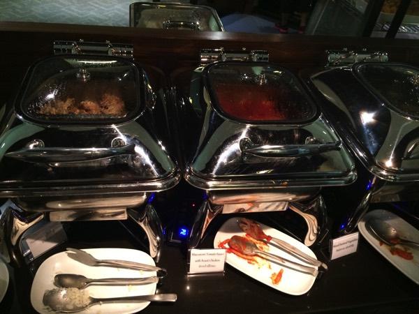 รีวิว อาหารห้องรับรอง การบินไทย