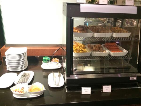 รีวิว อาหารห้องรับรอง thai airways