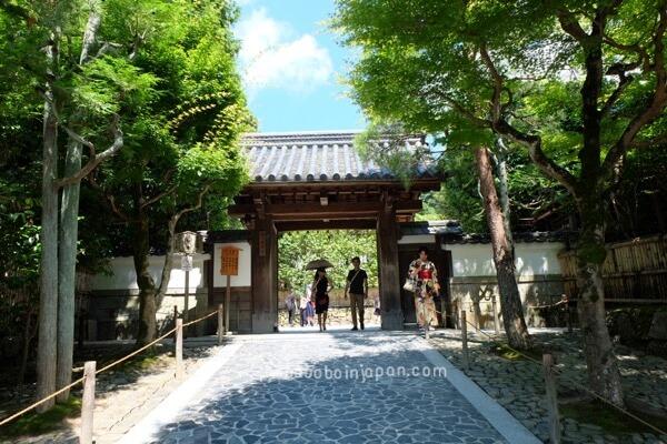 แนะนำที่เที่ยวเกียวโต วัดเงิน