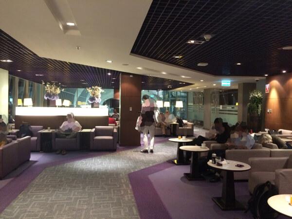 รีวิว ห้องรับรอง การบินไทย Business