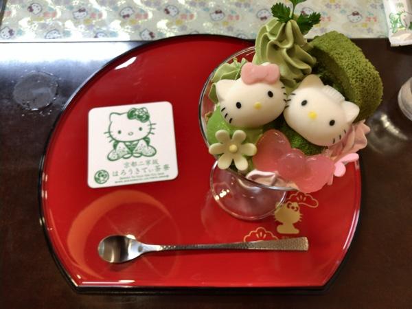 รีวิว Hello kitty cafe kyoto