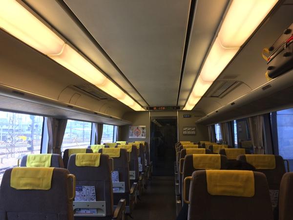 รีวิวรถไฟHaruka express JR