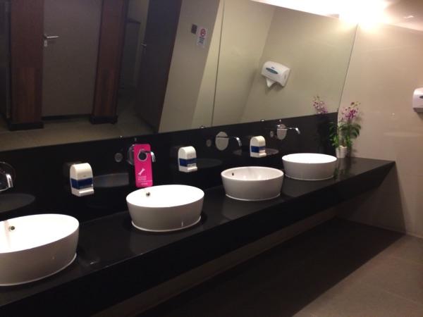 ห้องน้ำ การบินไทย