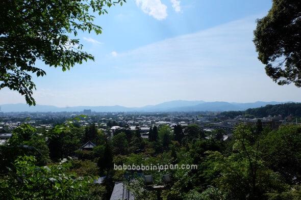 ขุดชมวิวเมืองเกียวโตประเทศญี่ปุ่น