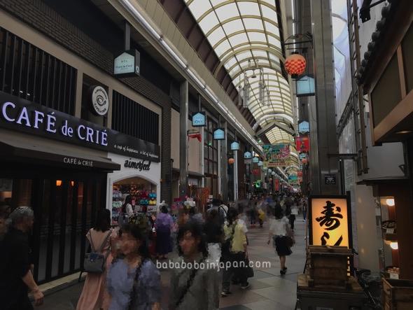 shijokawaramachiแหล่งช้อปปิ้งเกียวโต