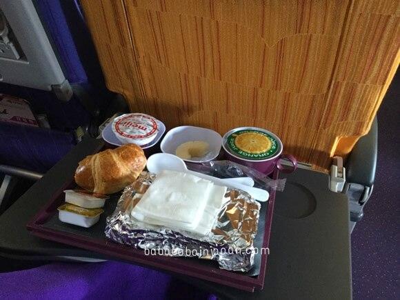 อาหาร การบินไทย สิงคโปร์