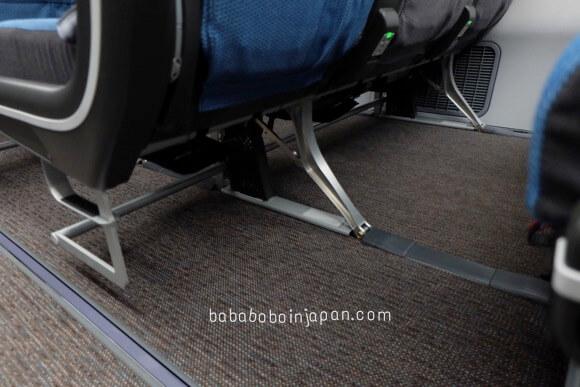 ที่นั่งไม่มีที่รองเท้า