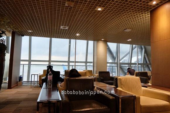 เลาจน์การบินไทย สนามบินสุวรรณภูมิ