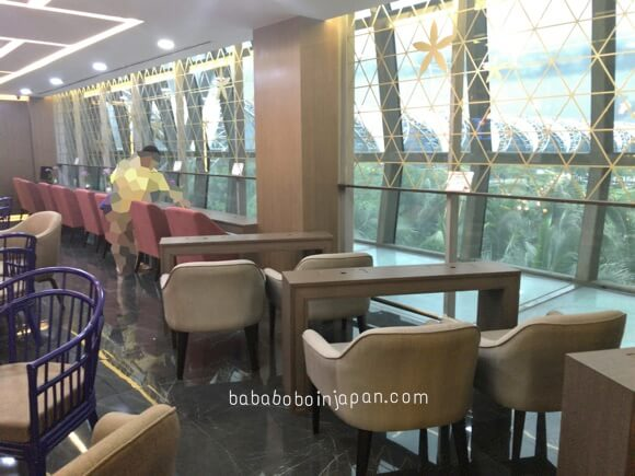 china airlines lounge รีวิว
