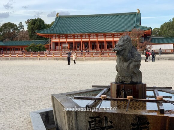 ศาลเจ้าเฮอัน เกียวโต