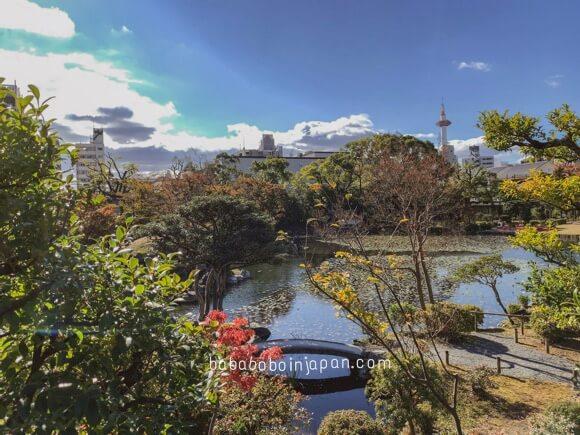 สวนกลางเมืองเกียวโต