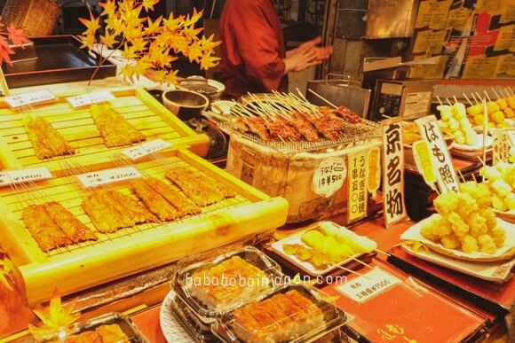 ร้านอร่อย nishiki market kyoto