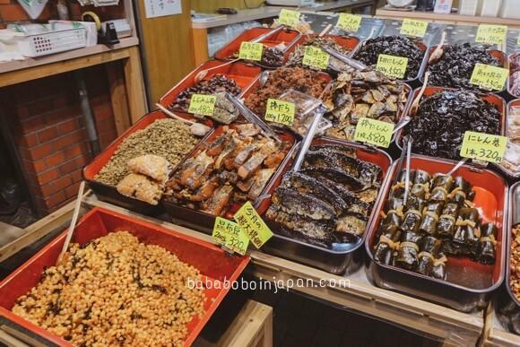 ร้านอร่อย nishiki market