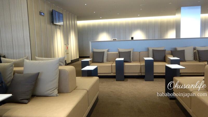 ANA lounge รีวิว