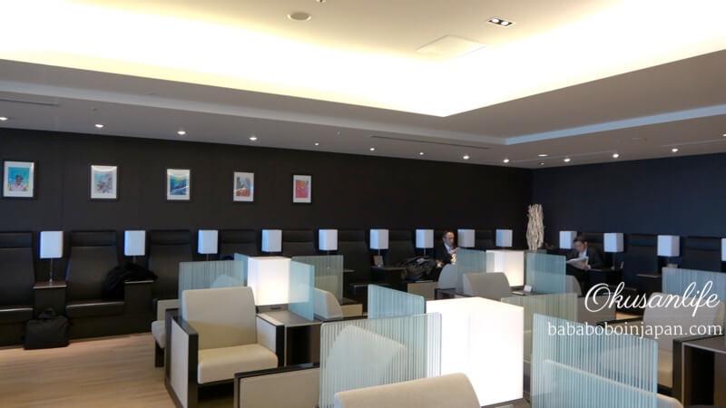 รีวิว ANA Lounge haneda
