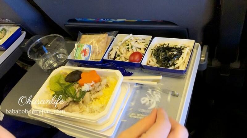 รีวิว ANA ฮ่องกง ไปญี่ปุ่น