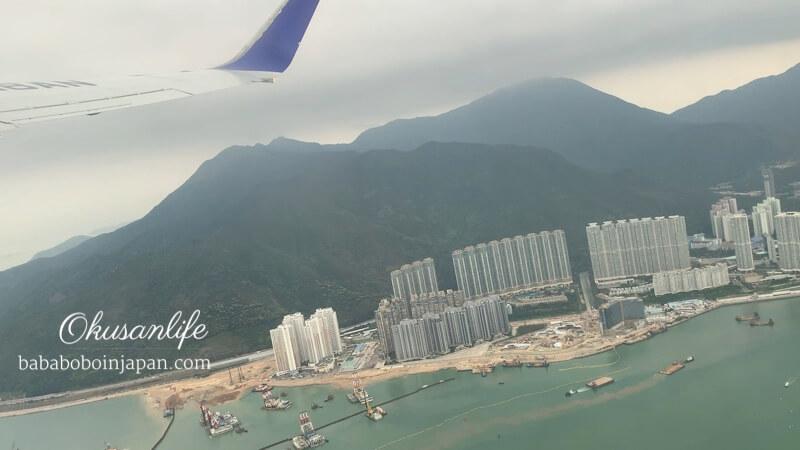 รีวิว ANA hongkong to KIX
