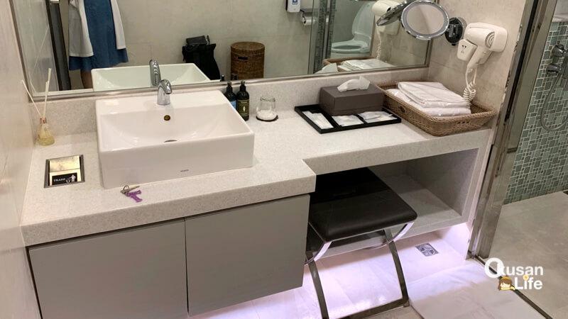 ห้องอาบน้ำ EVA สนามบินสุวรรณภูมิ