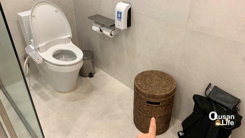 ห้องอาบน้ำ EVA สุวรรณภูมิ