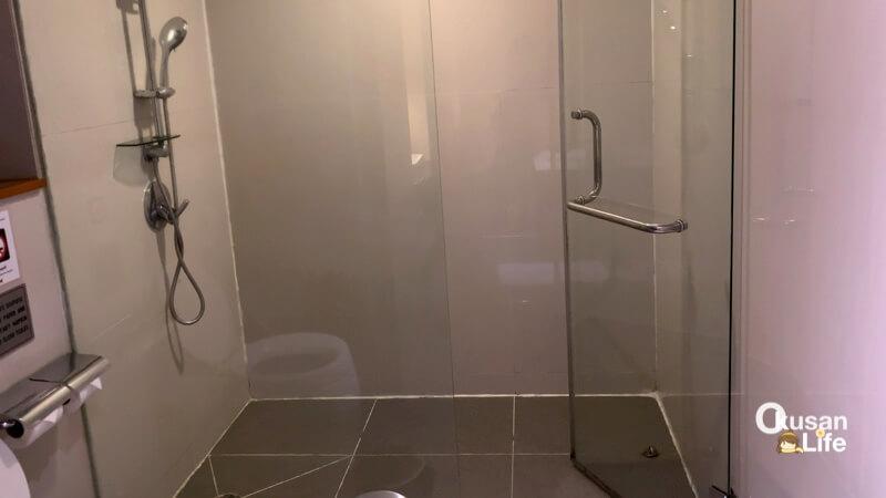 การบินไทยมีห้องอาบน้ำไหม