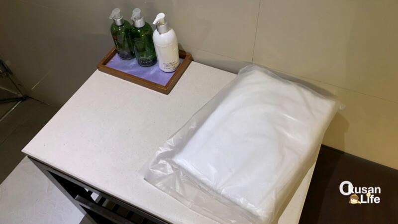 รีวิว ห้องอาบน้ำ royal orchid lounge สุวรรณภูมิ