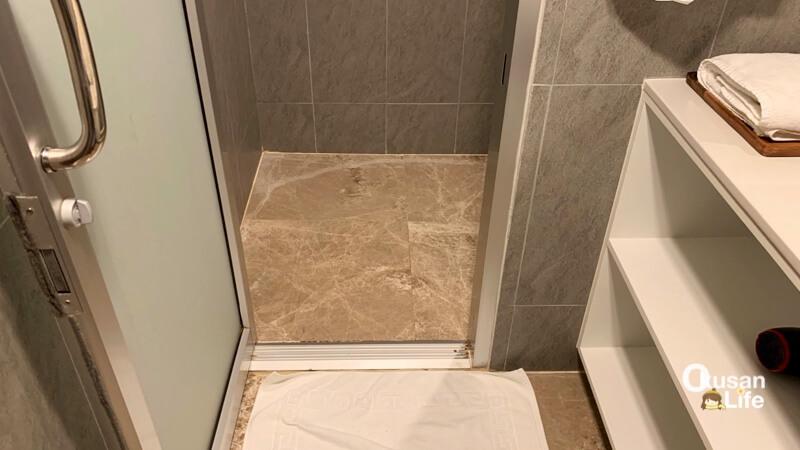 ห้องอาบน้ำ Turkish Airlines สุวรรณภูมิ