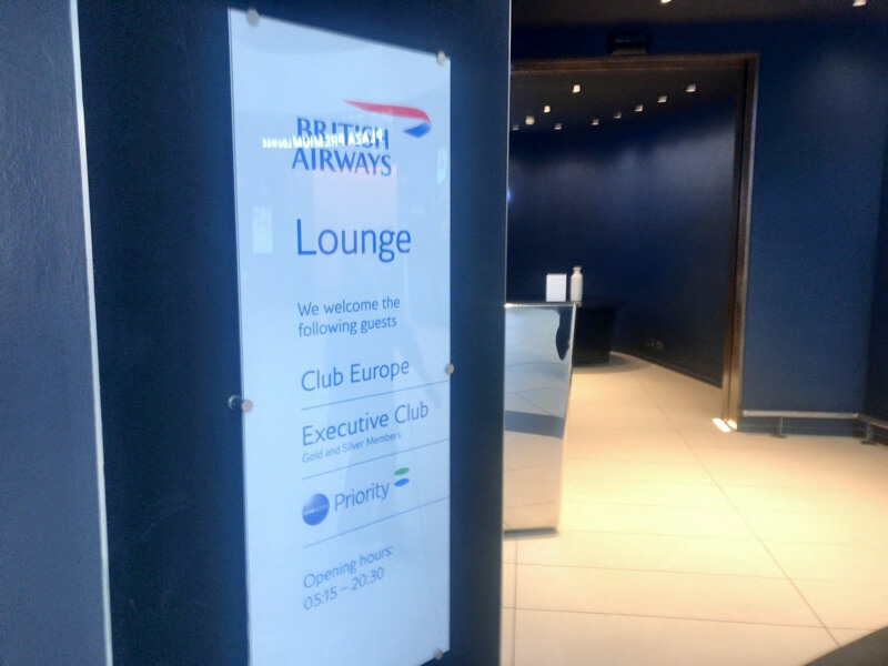 British Airways Lounge